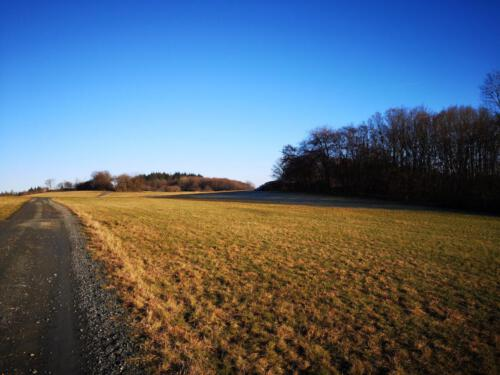 Wanderweg unterhalb des Schönscheids
